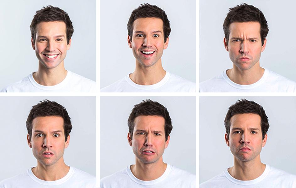Utilización de la cara para cine y televisión