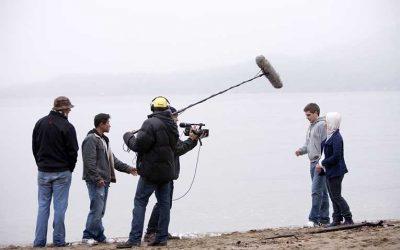 La jornada laboral del actor en cine y televisión