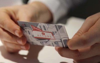 ¿Los actores necesitamos tarjetas de negocio?