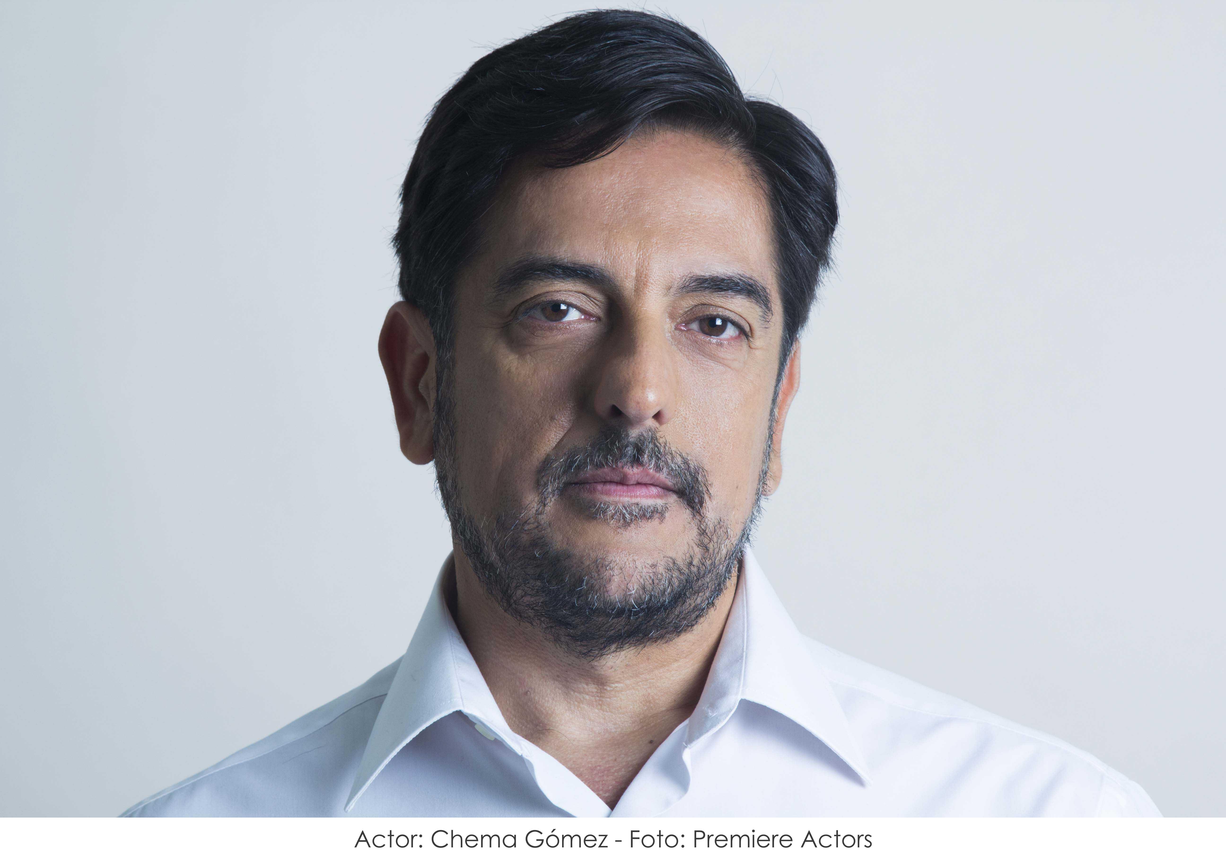 Actor: Chema Gómez - Fotografía: Premiere Actors